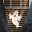 """Halloween 16/"""" x 13/"""" Ghost Shimmer Window Silhouette Will Light Up The Night"""