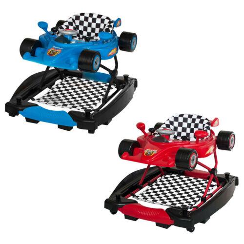 Baninni Trotteur 2-en-1 Bébé apprentissage de marche Razza Rouge//Bleu