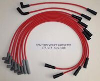 Chevy Corvette 1992-1996 5.7l 350 Lt1 Lt4 Red Performance Spark Plug Wires Usa