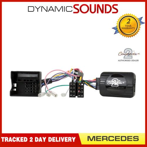 Botón de teléfono adaptador de control de volante Pioneer SOPORTE para Mercedes Clase E W211