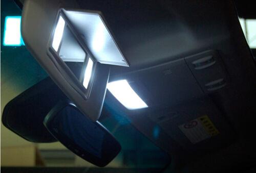 White 11pcs Interior LED Lgith Kit for 09-14 Ford F-250 350 450 550 FreeTool