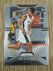 2019-20-Prizm-Nic-Claxton-Prizm-Rookie-RC-292-Nets