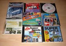 Computerspiel Sammlung Konvolut - Patiencen - Pinnball - Solitaire - Software