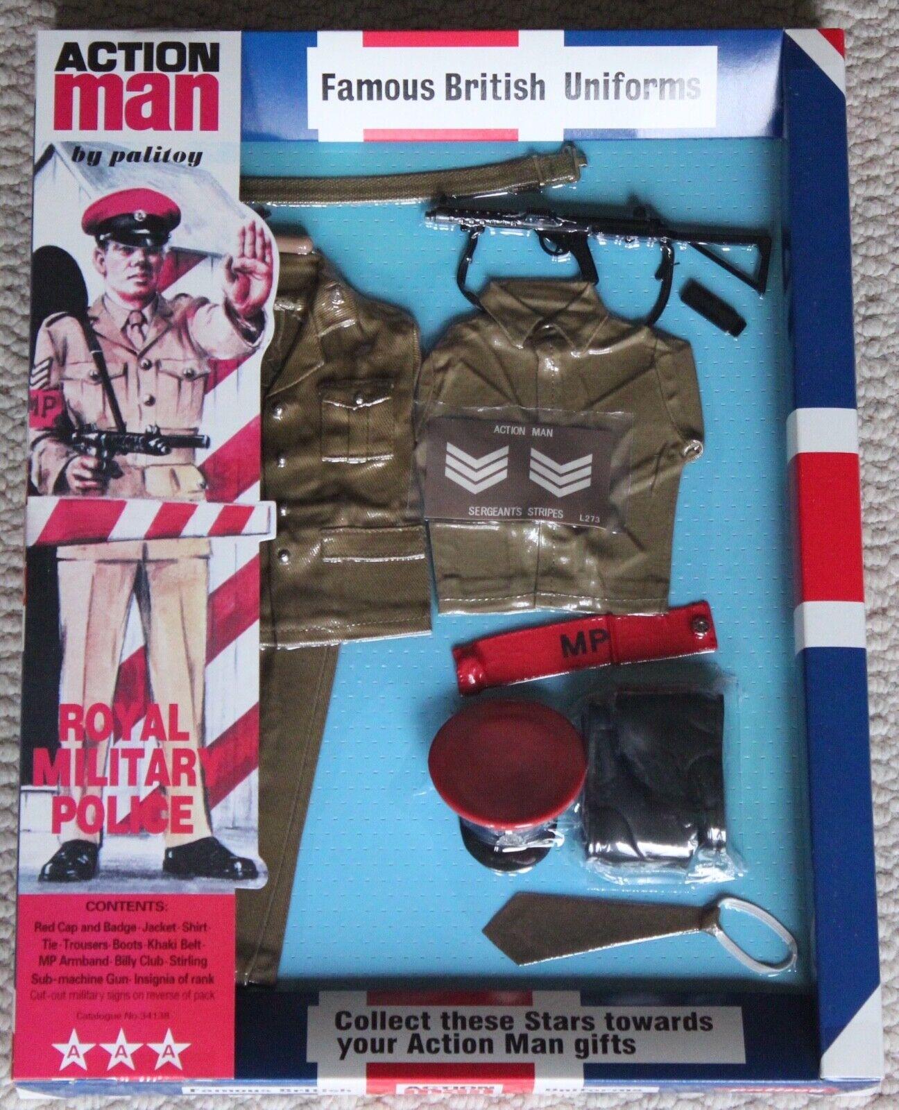 mas preferencial Vintage Acción Man 40th aniversario aniversario aniversario policía militar británica MP en caja de tarjeta  ofreciendo 100%