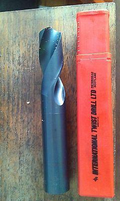 TRUBOR England 3.4mm size HSS Left Hand LH Stub Drill Drillbits