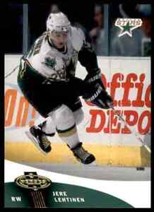 2000-01 Upper Deck Heroes Jere Lehtinen #41 8997