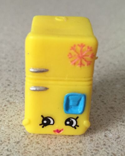 NEW Shopkins Season 3 Moose Toys Rare #3-114 Yellow Frost T Fridge