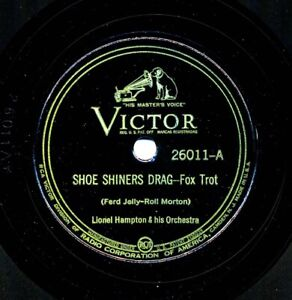 LIONEL HAMPTON 1938 Victor 26011 - Shoe Shiners Drag / I'm in the Mood For Swing