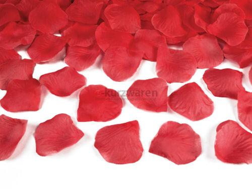 100//500 Stück Rosenblätter Blütenblätter Hochzeit Party Dekoration Viele Farben