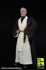 "AFS A009 1/6 Star Wars Jedi Warrior Obi-Wan Suit Clothing F 12"" Male Body Figure"