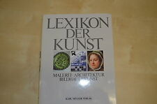 Buch Lexikon der Kunst Karl Müller Verlag Hert Klap Nr. 6