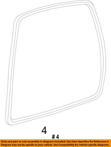 FORD OEM Lift Gate-Weatherstrip Seal 7L1Z78404A06B