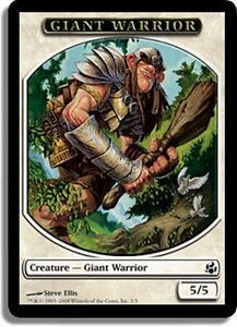 4x-TOKEN-Guerriero-Gigante-Giant-Warrior-MAGIC-MT-Ita