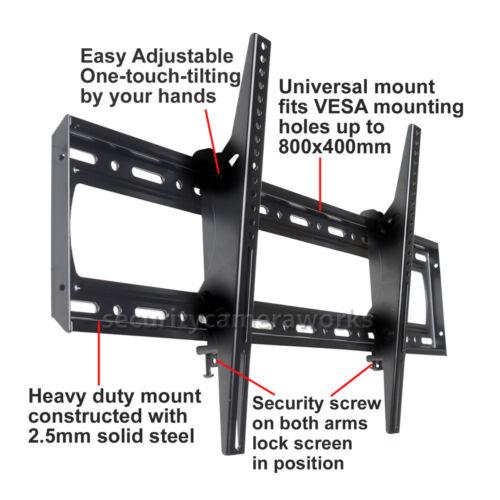 "Tilt TV Wall Mount LED Plasma for Panasonic Samsung VIZIO 60 65 70 75 80 90/"" B08"