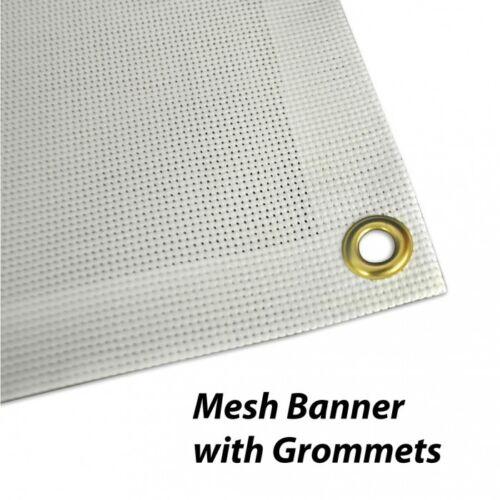 4/' x 12/' Custom Mesh Banner Full Color High Quality