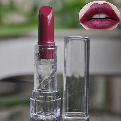Hot New Fashion Portable Women Dark Purple Health Lip Lipstick Makeup