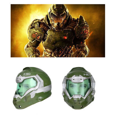 Xcoser Doom Doomguy Mask Halloween Cosplay Resin Helmet Costume