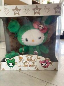 TOKIDOKI X Sanrio Collaboration Hello Kitty Plush Doll Cactus w/tracking# FS New