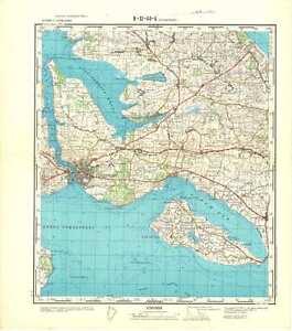 Russian Soviet Military Topographic Maps SONDERBORG Denmark 1