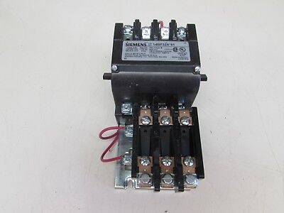W// 3UB8123-4DW2 120//220V COIL  MAKE OFFER! SIEMENS SIZE 1 STARTER 14DU†32A*