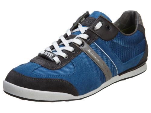 Neuf Hugo Boss Men/'s Premium Sport Sneaker Chaussures Akeen bleu moyen 50247604-421