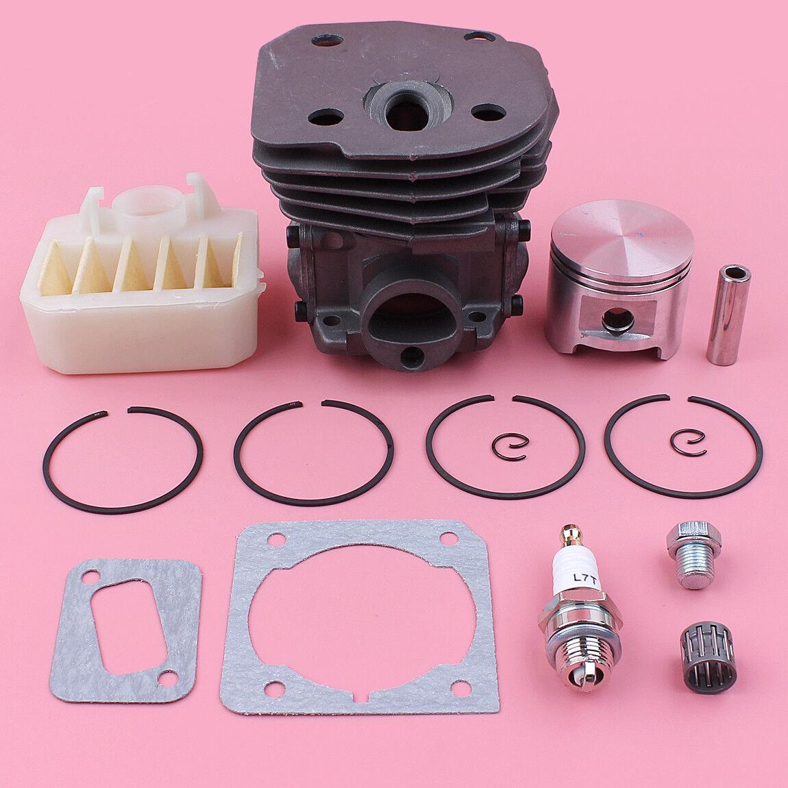 Aro del pistón cilindro 45mm Filtro De Aire Para Husqvarna 353 351 350 346 XP Gasket Kit