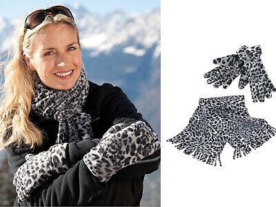 Di Animo Gentile Risultato Inverno Essentials Women's Snow Leopard Set (r366x) - Inverno Caldo Set-mostra Il Titolo Originale