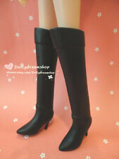 Doll shoes ~ Takara Jenny Plain Black Long Boot 1pair NEW