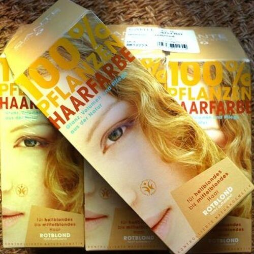 Haarfarbe rotblond gold
