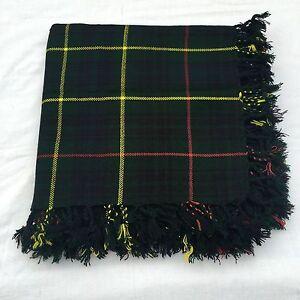 "New Hunting Stewart Tartan Active Men Scottish 4 Way 48"" x 48"" Kilt's Fly Plaids"