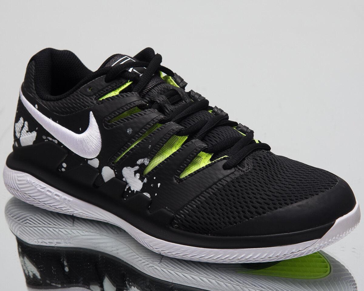 Nike Air Zoom Vapor X HC Premium Tennis shoes Black White Sneakers AV3911-001
