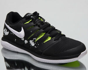 Nike Air Zoom Vapor X HC Premium Tennis Shoes Black White Sneakers ... dac20899147