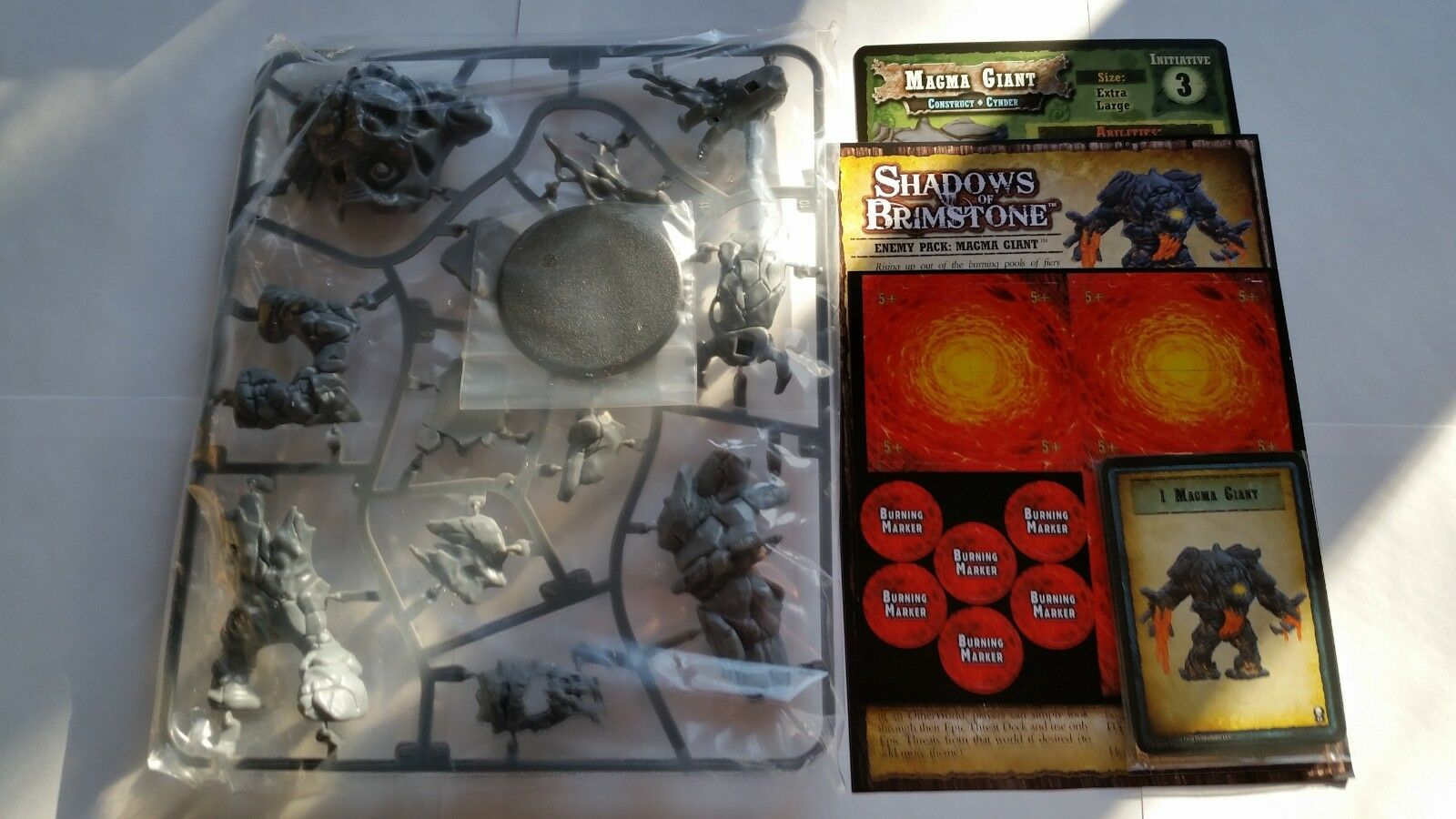 SHADOWS OF BRIMSTONE MAGMA GIANT  Limited Preview
