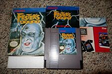 Fester's Quest (Nintendo Entertainment System NES, 1989) Complete Poster B FAIR