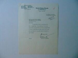 034-New-Mexico-Senator-034-Clinton-Anderson-Signed-TLS-Dated-1951-JG-Autographs-COA