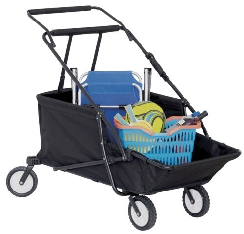 Foldable Beach Wagon Beachbuggy Caddy Foldable Baggage