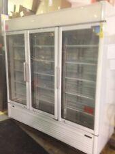 3 Door Glass Door Refrigerated Merchandiser Turbo Air Tgm 72sdw