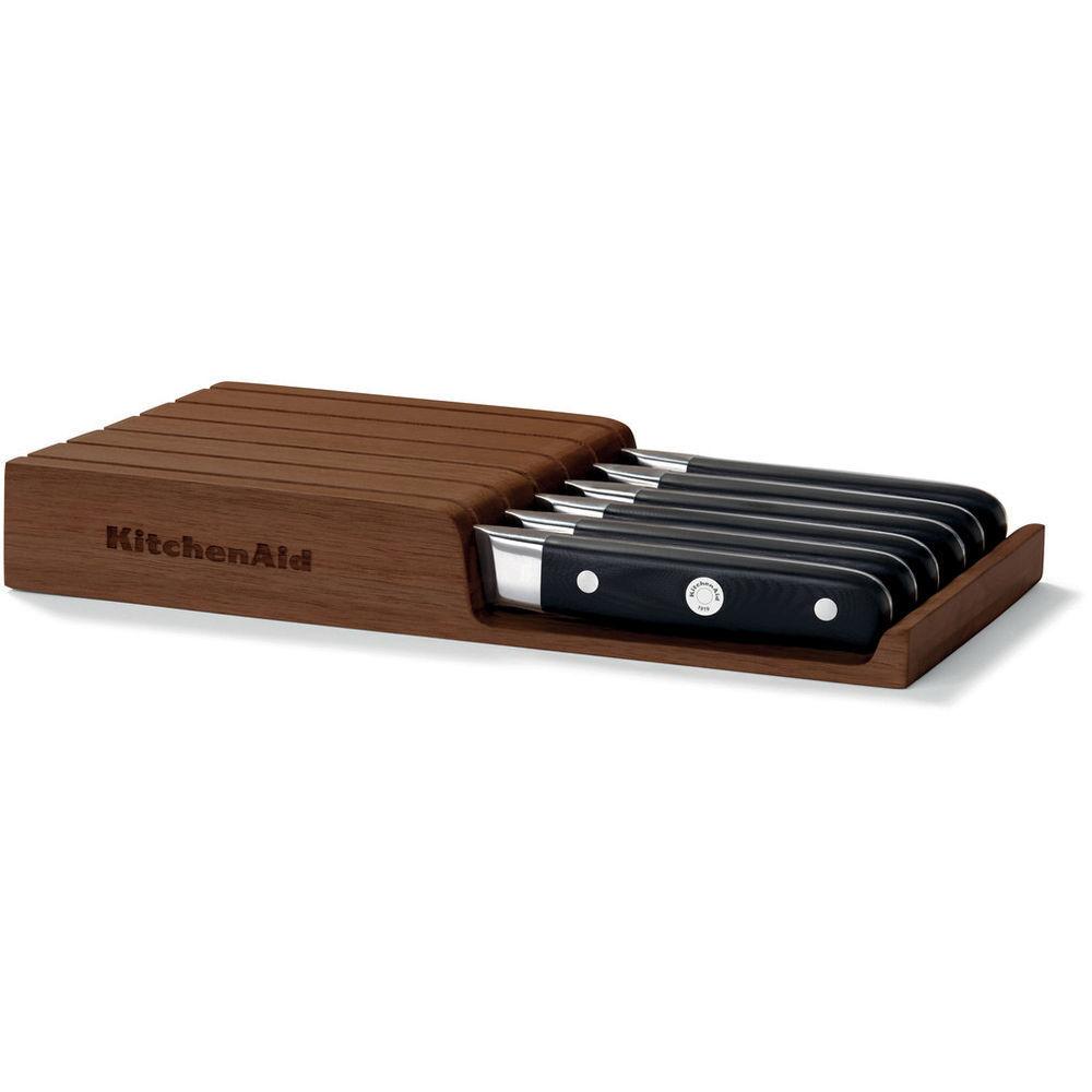 KKFTR04SK Accessorio KitchenAid Ceppo in legno 4 Coltelli voitureNE Meat knives