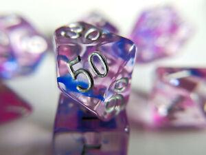 Little-Dragon-Corp-Pink-Sapphire-Dice-7-Piece-RPG-Set