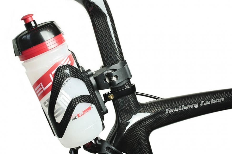 Fahrrad Flaschenhalter Sattelstütze FC281Sportly - Elite Flasche für Viron.