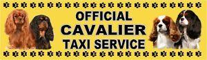 CAVALIER-OFFICIAL-TAXI-SERVICE-Dog-Car-Sticker-By-Starprint