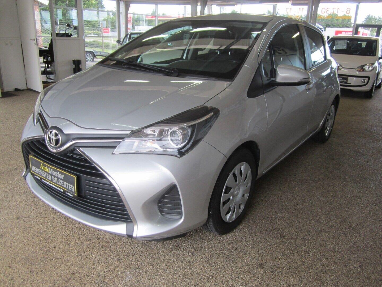 Toyota Yaris 1,0 VVT-i T2 5d - 78.700 kr.