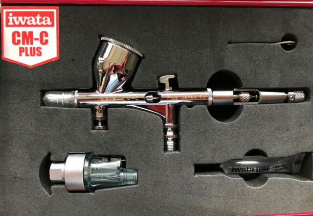 Iwata Custom Micron CM-C Plus (version 2) airbrush IW-CM-C2- CASED 10YR WARRANTY