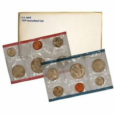1979 P & D US Mint Set United States Original Government Packaging Box Cello