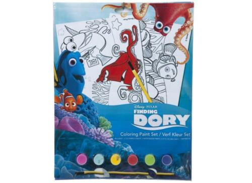 FINDING DORY DORY PUZZLE STICKER COLOURING PAINT PEN PENCILS BOOK
