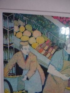 Limited time price Carole Sue Lebbin Etching PRODUCE DEPT