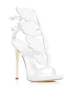 315d20f6b286d NB Giuseppe Zanotti Cruel Summer 110 White Bianco Wing Strap Sandal ...