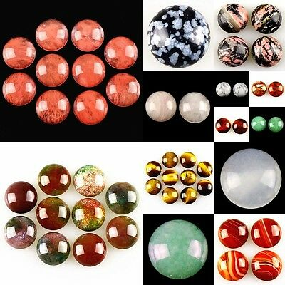 20mm Round Flatback Cabochon CAB Ring Face Jasper Gemstone Accessory Wholesale
