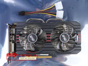 Details about ASUS AMD Radeon R7 260X 2GB R7260X-DF-2GD5 128-Bit Video Card  HDMI DVI DP 2G D5