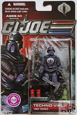 "TECHNO VIPER COBRA Hasbro GI JOE 30TH ANNIVERSARY 2011 3.75"" ACTION FIGURE"